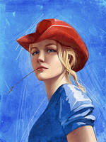 Cowgirl-2 by catigreen