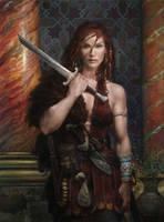 Red Sonya by DonatoArts
