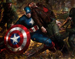 Captain America - Duty by DonatoArts