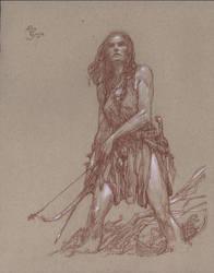 Red Sonja - Archer by DonatoArts