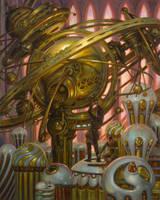 Perpetual Motion Machine by DonatoArts
