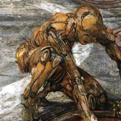 Empathetic Robot - Reach by DonatoArts