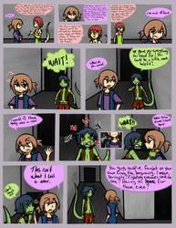 Purple People page 1 by kidann