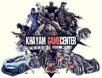 Khayam Game Center by AminVakili