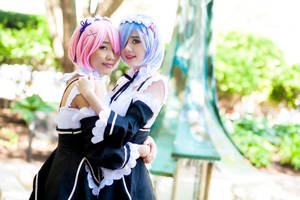 Ram and Rem ~Re: Zero~ by Arctic-RevoIution