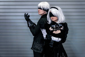 9s and 2b by Arctic-RevoIution