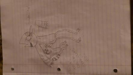 Morby Cruddy Drawing by LexiStaraze