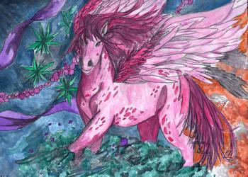 Pegasus Kilava by DarkStormSeeker