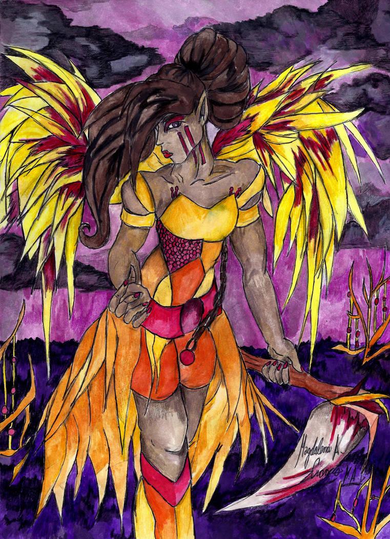 Fairy Guardian Ayanna by DarkStormSeeker
