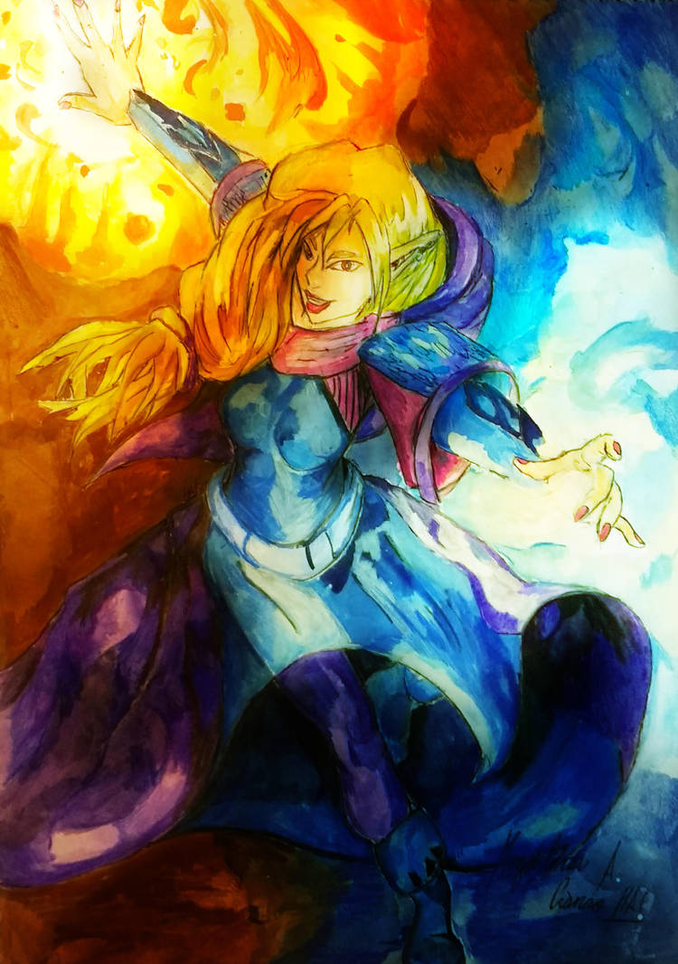 Sorceress 2 by DarkStormSeeker