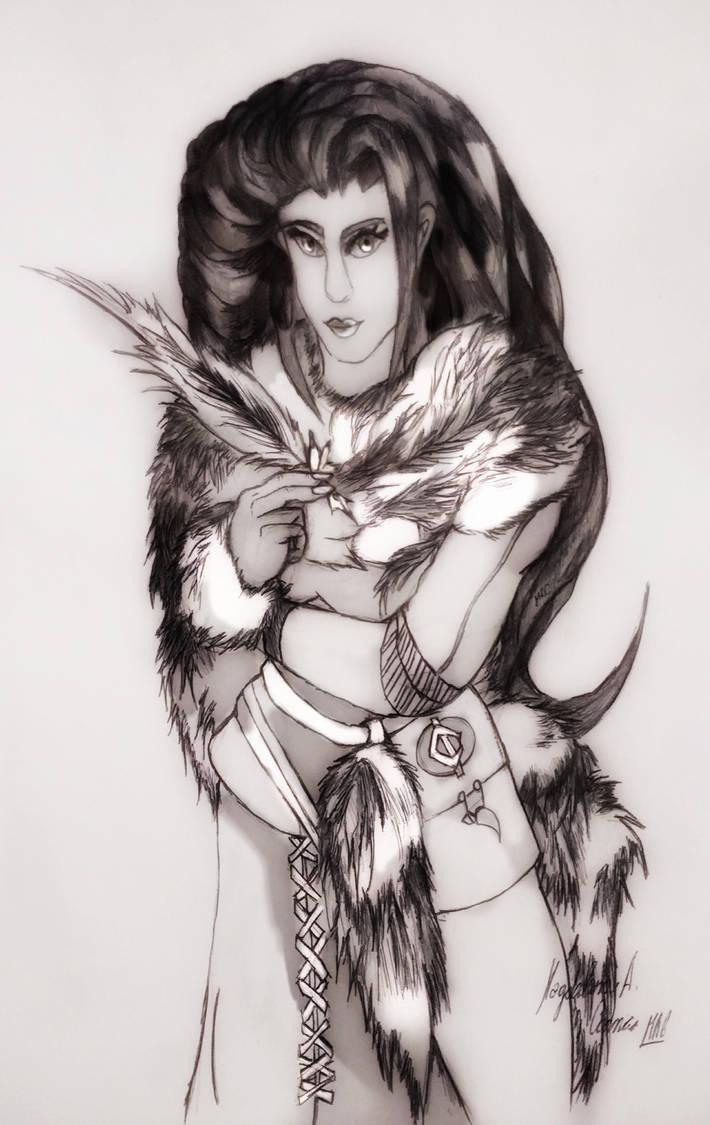 Ariadne, Polar Queen. by DarkStormSeeker