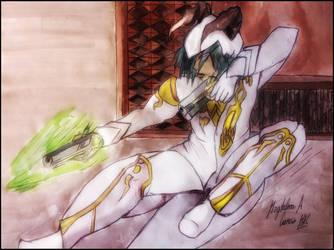 Aion - Gunner by DarkStormSeeker