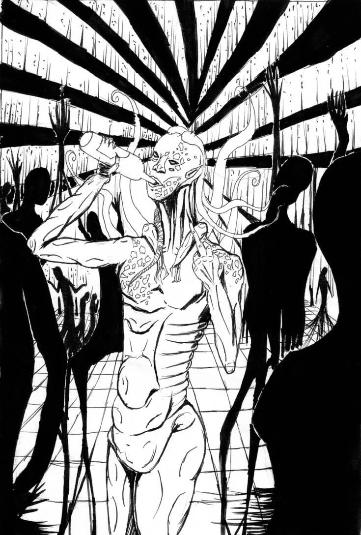 Elixir: character concept: Absinthe Drine by carnegiebear