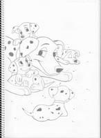 101 Dalmatians by Pepples93