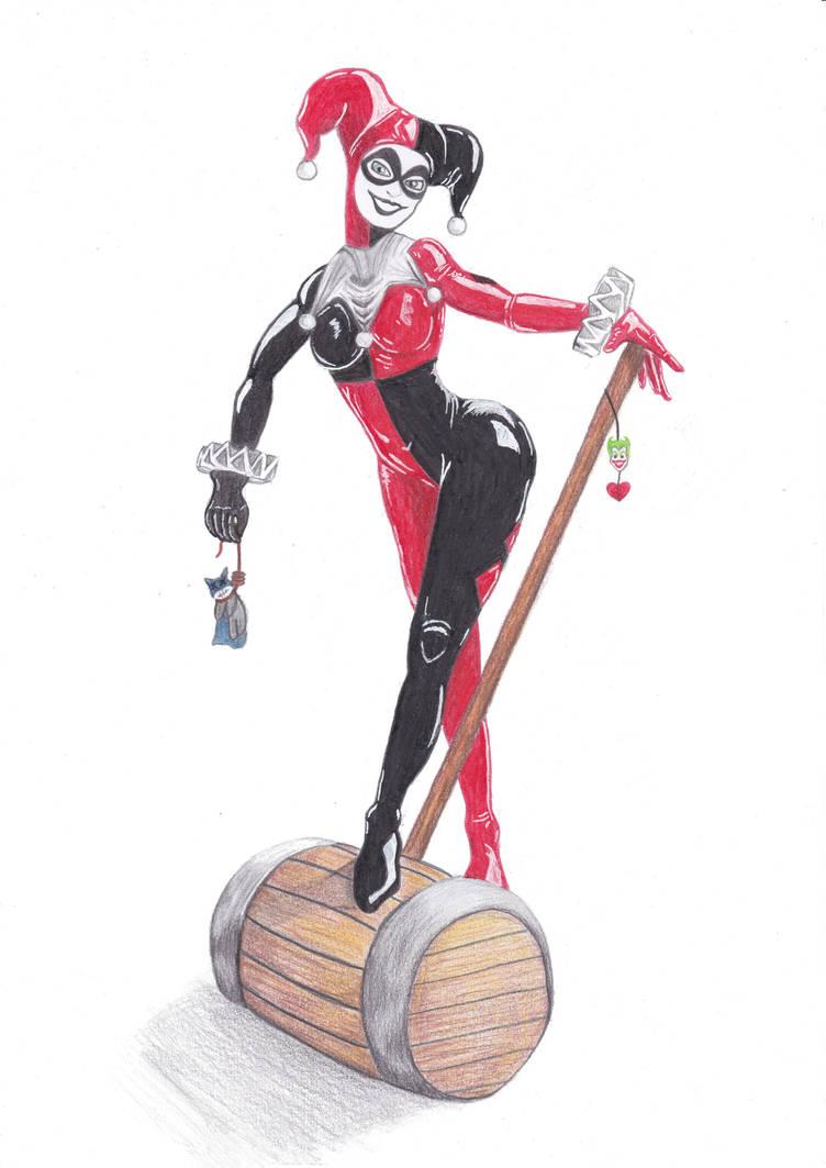 Harley Quinn by Pepples93