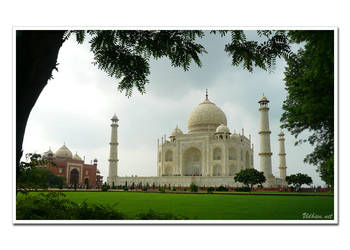 Taj Mahal in other side by techvolution
