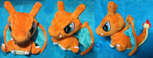 Commission: Chibi Charizard by Scarlet-Songstress