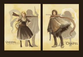 +Characters: Chapel + Claudia+ by TownOfWolves