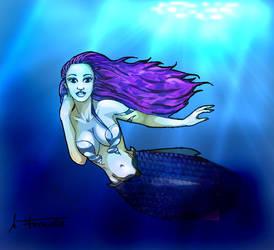 Mermaid Background by UDeeN