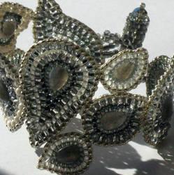 Snow queen Paisley Bracelet by MyFairLadyVT4