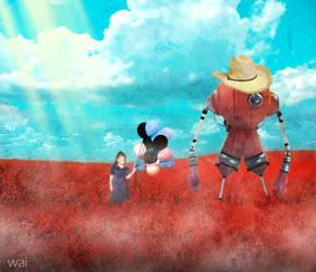 Lost in Rose Garden by shadowai1029