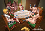 Poker party by Pablocomics
