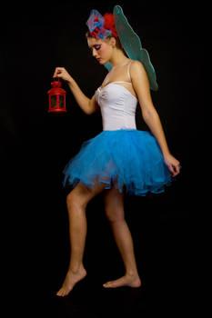 Walking Fairy by skyleaf-stock