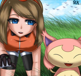 May and Skitty by FenRox