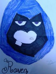Raven ( re - draw ) by RaeRae120