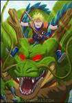 Naruto on shenlon by valvicto4