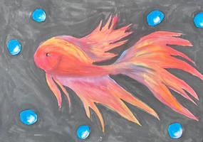 Made Up Rainbow Fish by Zanowin