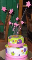 Dot Cake close up by Zanowin