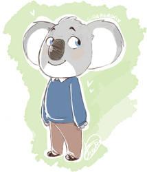 Baby Buster Sketch by Gidan-Kuroki
