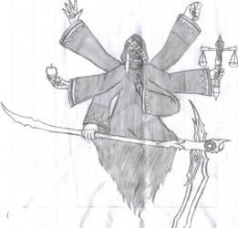 Lucas Dark angel trigger form by VincentDante