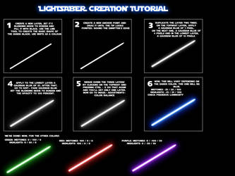Lightsaber tutorial by nico89-fx