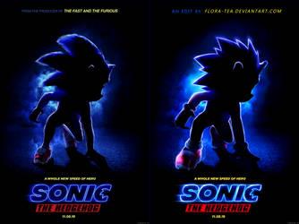 Sonic Movie Poster Redo by Fainalotea