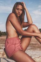 Pink Shorts by Suitcasefotografie