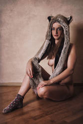 Fur Hat by Suitcasefotografie