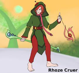 Rhoze Cruer - Cynical Priestess by Lion-Oh-Day