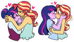 Purple and orange by ponydreamdiary