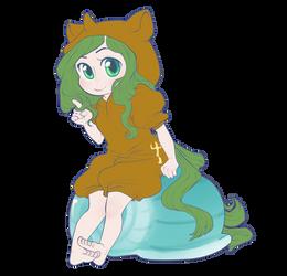 Oc Pony Kigurum Neptunia by qeius