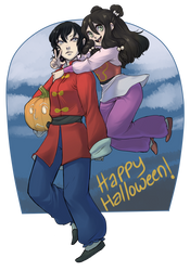 2013 Halloweenies by qeius