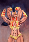 For the Shokan! by grim1978