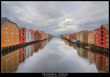 Trondheim - Nidelva by stetre76