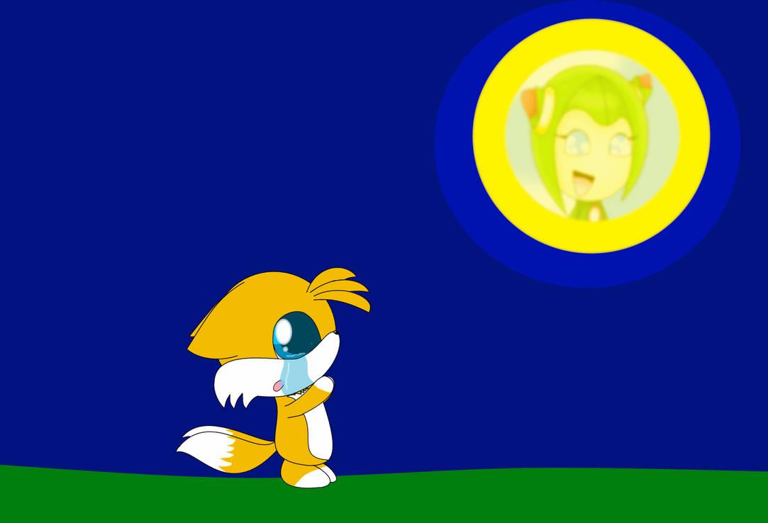 Chibi Tails Crying By Kittybat1234 On Deviantart