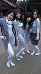 Zentai girls by mysexyzentai