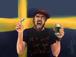Regular Ordinary Swedish Meal Time by MariaKlepikova