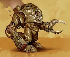Robotic Infantry by michaelmadder