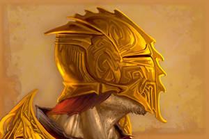 Golden Helm by michaelmadder