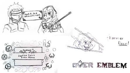 Sketch: Over Emblem by Erikyten